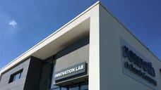Das Gebäude des Innovation Lab von Bosch Rexroth