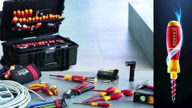 Die ElectricVario Family, ein System aus 83 miteinander kombinierbaren Werkzeugen