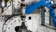 Handling Bearbeitungszentrum beschicken – per Roboter