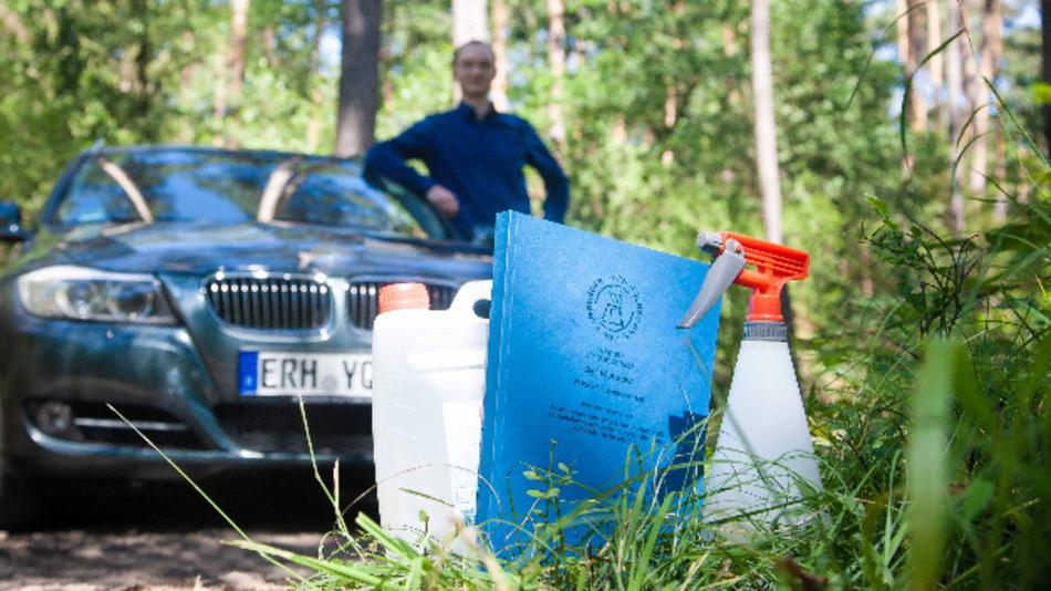 HFH-Absolvent Stefan Nahs hat ein handelsübliches Set zur direkten Wassereinspritzung umprogrammiert, um dessen Potenzial zur Schadstoffreduktion zu testen.