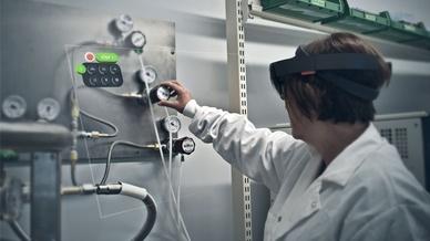 Augmented-Reality-Lösung Vuforia Expert Capture von PTC