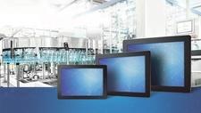Touch-Monitore Front gemäß IP65 geschützt
