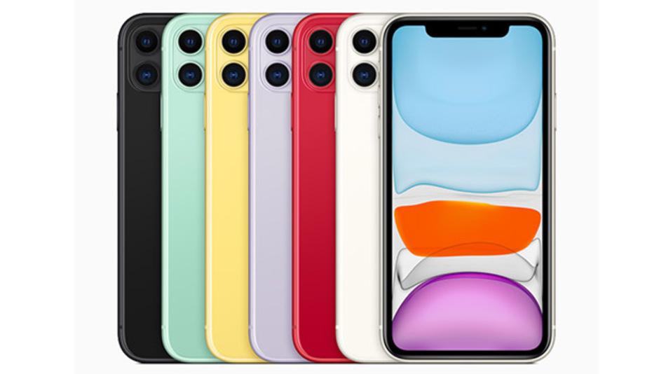 Das Apple iPhone 11 wird in 6 Farben erhältlich sein