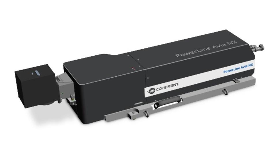 Coherent Powerline Avia NX – UV-Laser für beschleunigtes Schneiden von Wafern und Verpackungen
