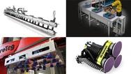 Bildcollage zu aktuellen Produkten aus der Robotik