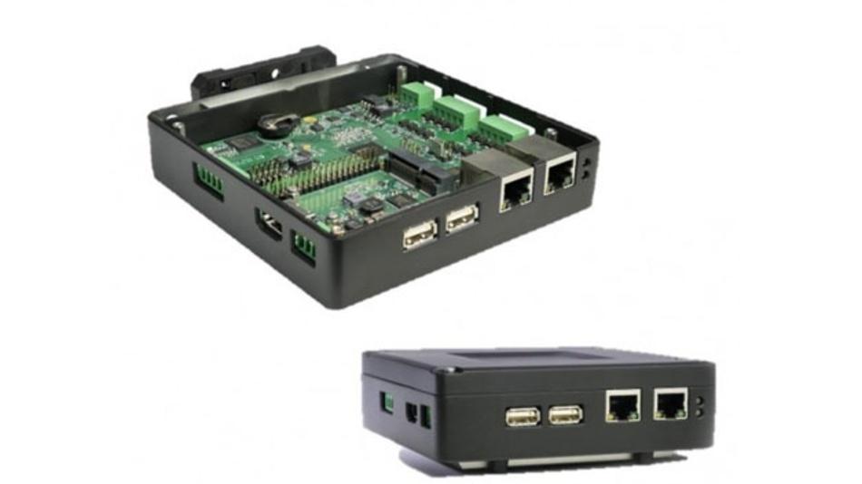 Das SmartEdge-Gateway enthält Raspberry-Pi-Technik, aber in eigens angepasster Form.