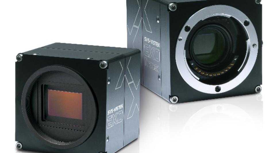 Zwei hochauflösende Kameras aus der Familie EXO von SVS-Vistek