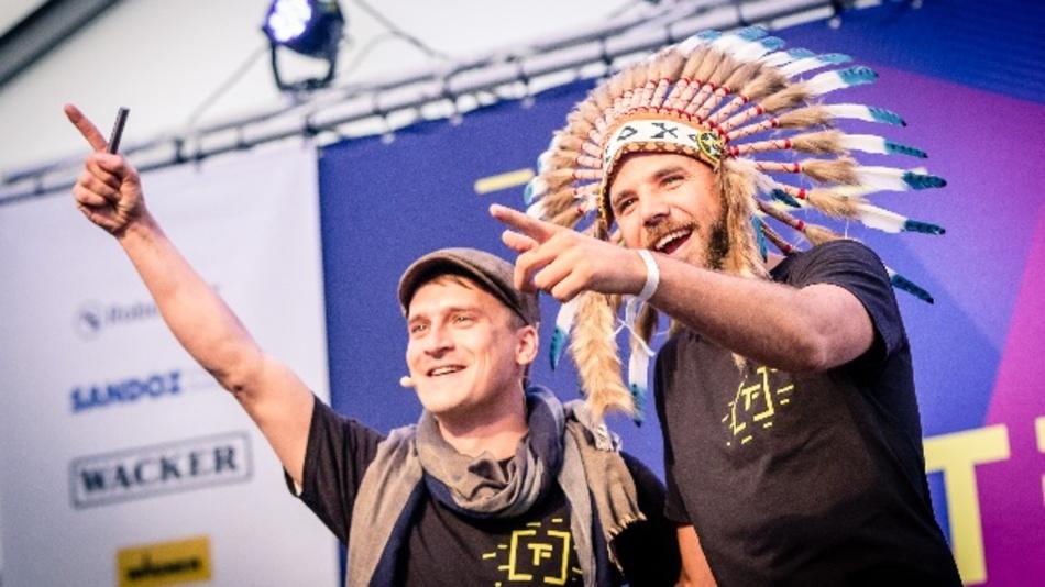 Drei Tage lang führte das Team von UnternehmerTUM durch das Techfest.