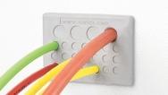 2_Werkzeugfrei moniterbare Kabeldurchführungsplattevon von Icotek