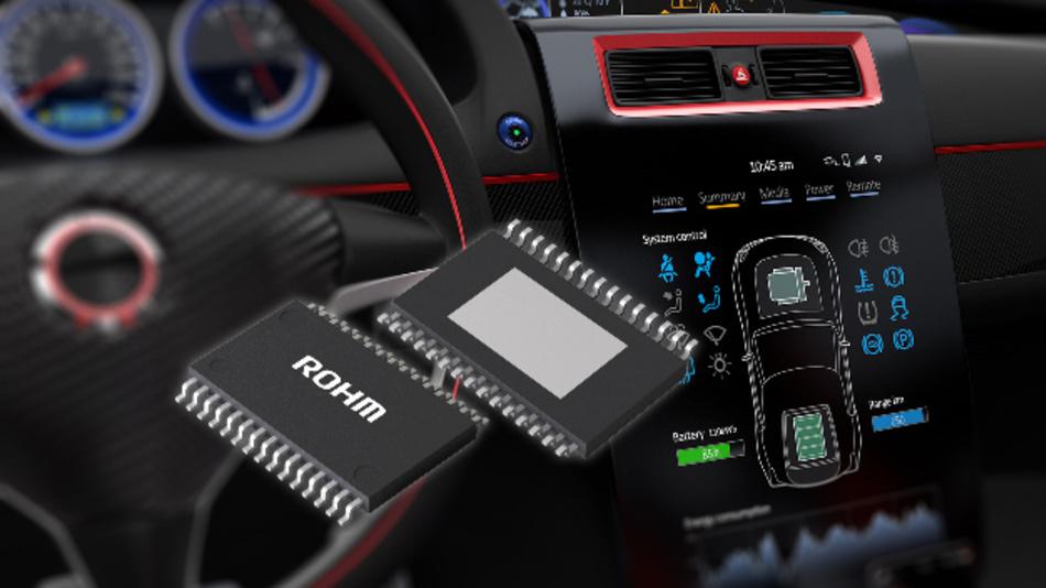 Der LCD-Treiber-IC BD81A76EFV-M von Rohm ist für das Common Platform Design ausgelegt.