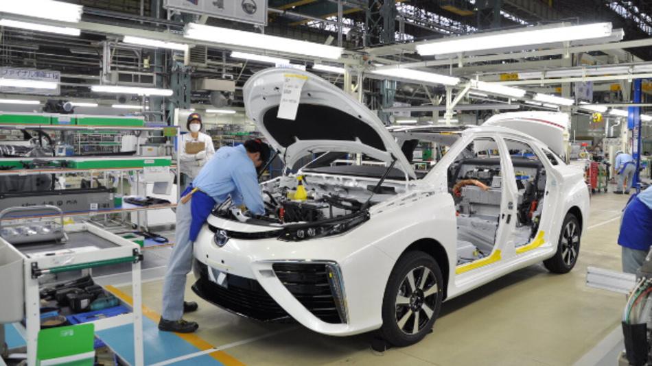 10.000 Limousinen vom Typ Mirai hat Toyota bisher produziert – damit ist der Mirai das meistproduzierte Brennstoffzellenfahrzeug der Welt.