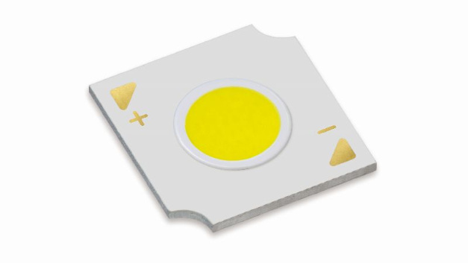 Die dritte Generation der High-Intensity COB-LEDs von Citizen wurde um die beiden Formfaktoren 3,3 mm und 4,2 mm erweitert.