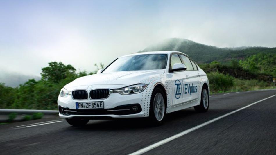 E-Mobilität ohne »Reichweiten-Angst«: Mit EVplus will ZF den PHEV zum alltagstauglichen E-Automobil machen.