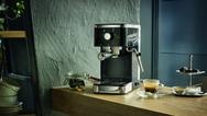 """Die Siebträger-Espressomaschine """"salita ES 400"""" ist zu einem Preis von 219,99 Euro (UVP) ab Oktober 2019 im Handel erhältlich."""