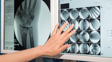 Auch in der Medizin sind Touch-Displays nicht mehr wegzudenken.