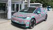 Der ID.3 von VW, der auf der IAA erstmals im Original zu sehen war. VW will auch die Zellen für die Batterien von E-Autos fertigen.