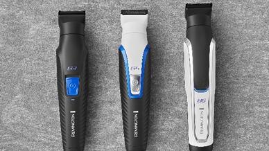 Alle drei Personal Groomer verfügen über einen breiten Trimmer, einen Trimmer für Nasen- und Ohrenhaare sowie eine TST-Klinge für eine Schnittlänge von 0,2 mm - für den perfekten Look ohne Hautirritationen.