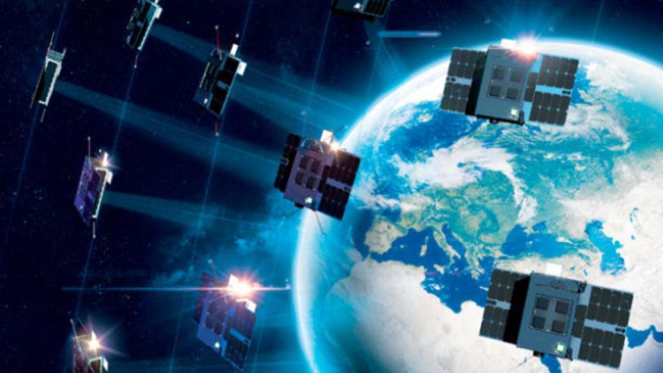 Das ELO-Satellitennetz von Eutelsat besteht aus insgesamt 25 Nanosatelliten auf niedrigen Umlaufbahnen, von denen jeder einzelne nicht mehr als 1 Mio. Euro kosten soll.
