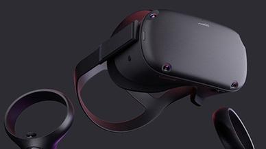 Facebook Oculus Quest VR AR Unterhaltungselektronik VR-Brille
