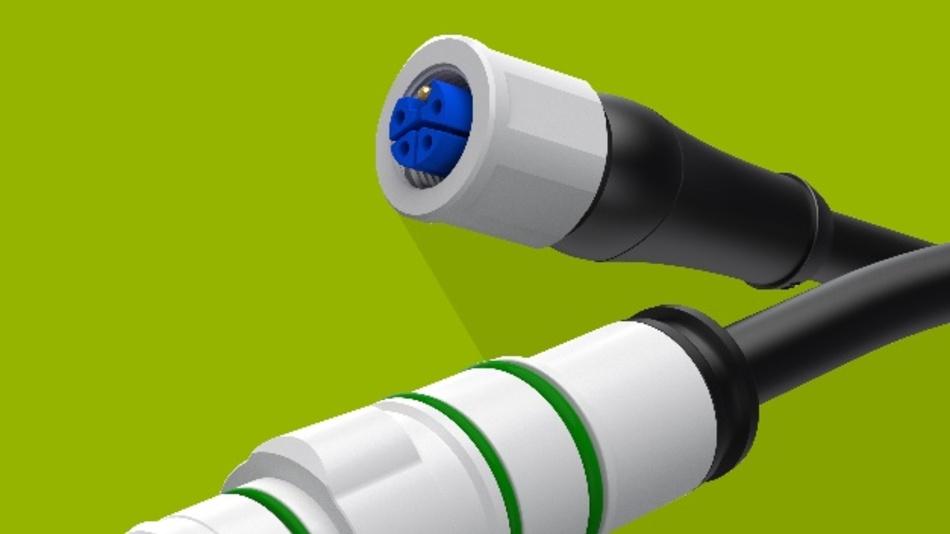 Elektroanschluss für Multikupplungen Für die Stromversorgung mit der Multiline E, einer Mehrfach- und Mehrmedienkupplung für den Anschluss von Funktionsgruppen an Robotern und Maschinen, hat Eisele einen weiteren M12-Power-Stecker auf den Markt gebracht. Das Unternehmen ergänzt damit das Baukastensystem für die Vereinigung von Druckluft, Vakuum, Gasen, Kühlwasser, Flüssigkeiten, Elektrik und Elektronik in einem Kupplungskörper um einen neuen Einsatz für Spannungen bis 63V AC/DC. Der 5-polige und L-codierte Steckverbinder eignet sich für die Leistungsversorgung von Linearantrieben und Schrittmotoren oder als Power-Zuleitung für Feldbusmodule. Dichtungen aus Fluorkautschuk (FKM) sowie eine Umspritzung aus Polyurethan (PUR) ermöglichen den Einsatz in allen industriellen Applikationen bis zu Schutzart IP67. Eine Verschraubung aus vernickeltem Zinkdruckguss sichert die Steckverbindung gegen unbeabsichtigtes Lösen. Der Anschluss ist belastbar bis zu 16A je Pin, schock- und vibrationssicher, verpolsicher und nicht verdrehbar.  Eisele Pneumatics, www.eisele.eu, info@eisele.eu, Tel.: +49 (0) 7151 1719 0