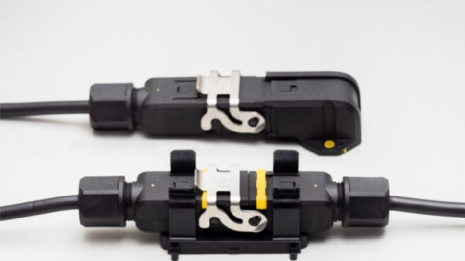 ..  in einen IP65-Steckverbinder für anspruchsvolle Industrie-Umgebungen verwandeln (siehe Bild).