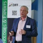 Prof. Wolfgang Weinhold auf der DFF-Tagung 2019 in Pforzheim.