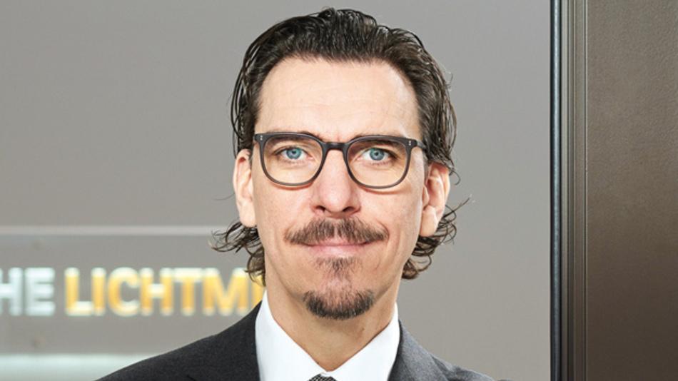 Alexander Hahn, Deutsche Lichtmiete, sieht sein Unternehmen gut gerüstet für die digitale Zukunft.