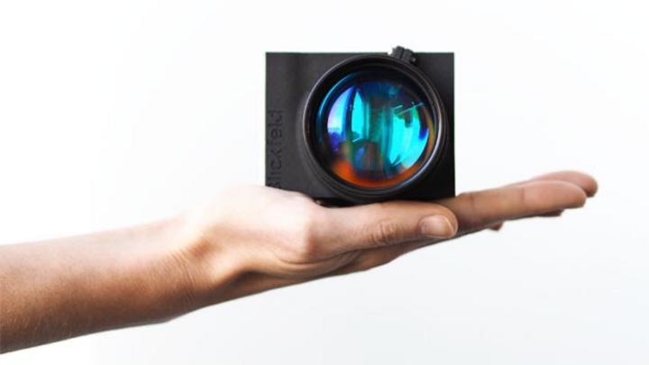 Der neue Lidar-Sensor Cube Range von Blickfeld erkennt Hindernisse in bis zu 250 Metern Entfernung.