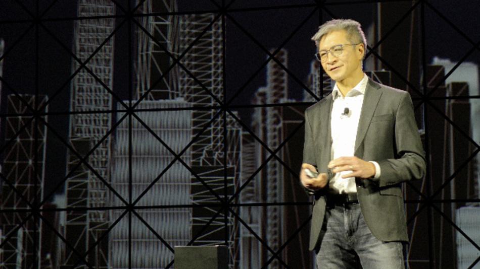 Victor Peng, President & CEO von Xilinx, in seiner Keynote auf dem XDF 2019: »Wir bekennen uns zu Open Source.«