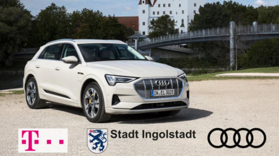 5G-Testfeld ab 2020 in Ingolstadt für sichere, digitale und vernetzte Mobilität: Gemeinsam mit Ingolstadt gehen Audi und die Deutsche Telekom eine 5G-Technologiepartnerschaft ein.