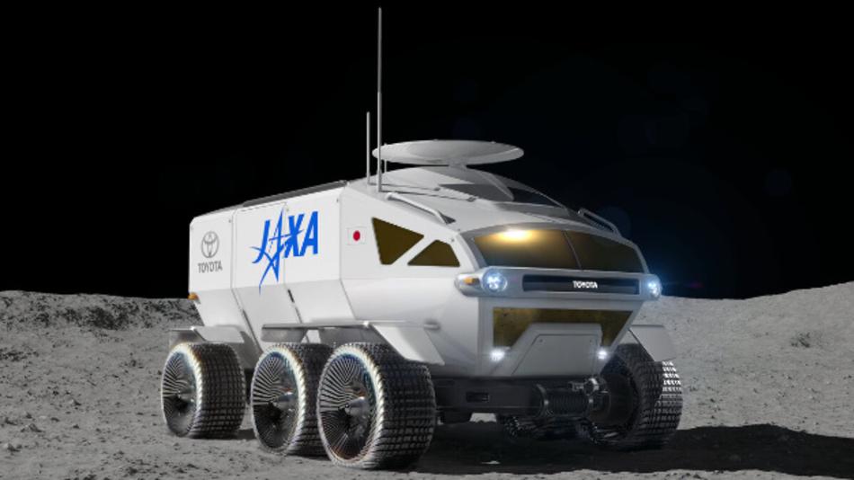 Seit Mai 2018 arbeitet Toyota gemeinsam mit der Weltraumagentur Jaxa an dem Mondfahrzeug.