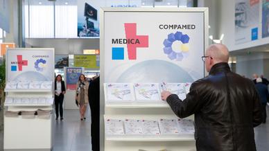 Das Messeduo Medica und Compamed findet vom 18. bis zum 21. November 2019 in Düsseldorf statt.