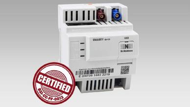 Das BSI-zertifizierte Gateway »Siconia SMARTY IQ« von Sagecom Dr. Neuhaus.
