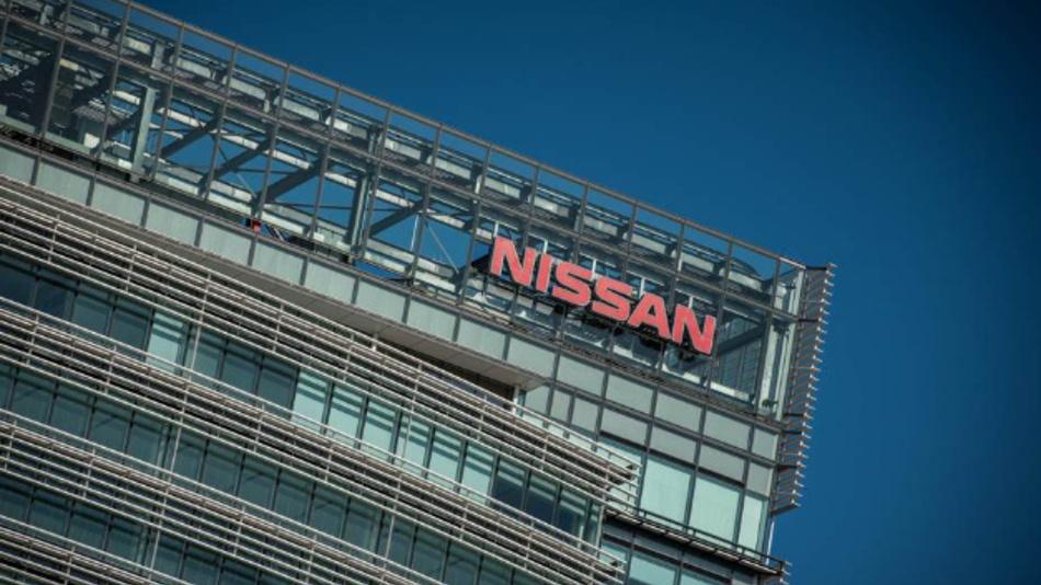 Der Hauptsitz von Nissan in Yokohama