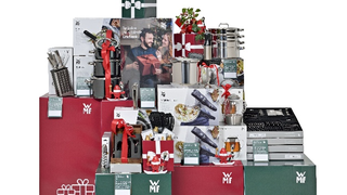 Aufmerksamkeitsstarke Materialen für den Point of Sale wecken die Vorfreude auf Weihnachten und die attraktiven Angebote von WMF.