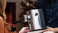 """Die """"WMF Lumero""""-Espresso-Siebträger-Maschine"""
