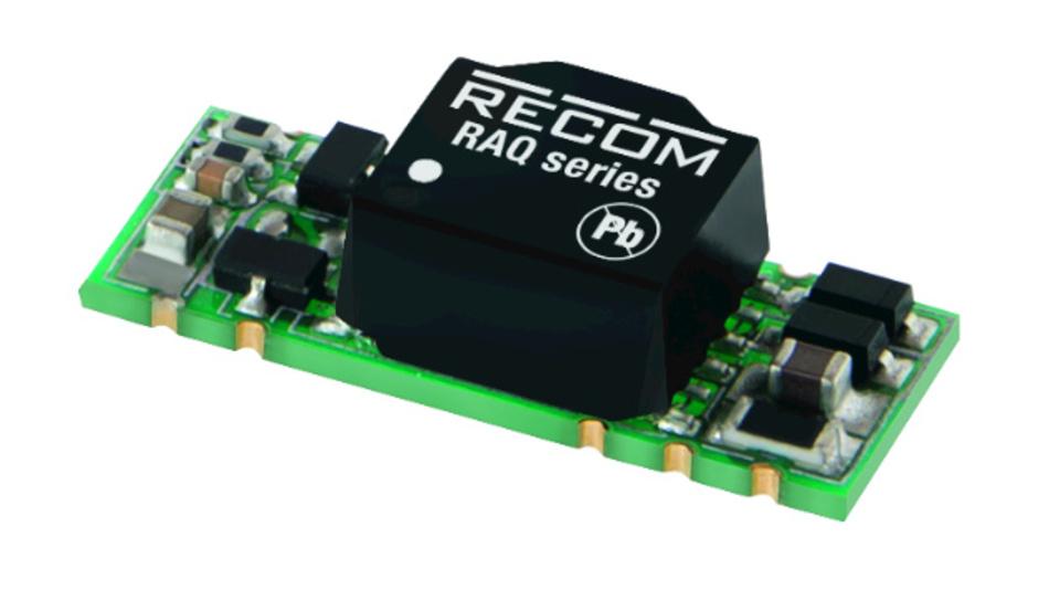 Bild 4. Recom RAQ-05055 DC/DC-Wandler für den Bereich Automobile.