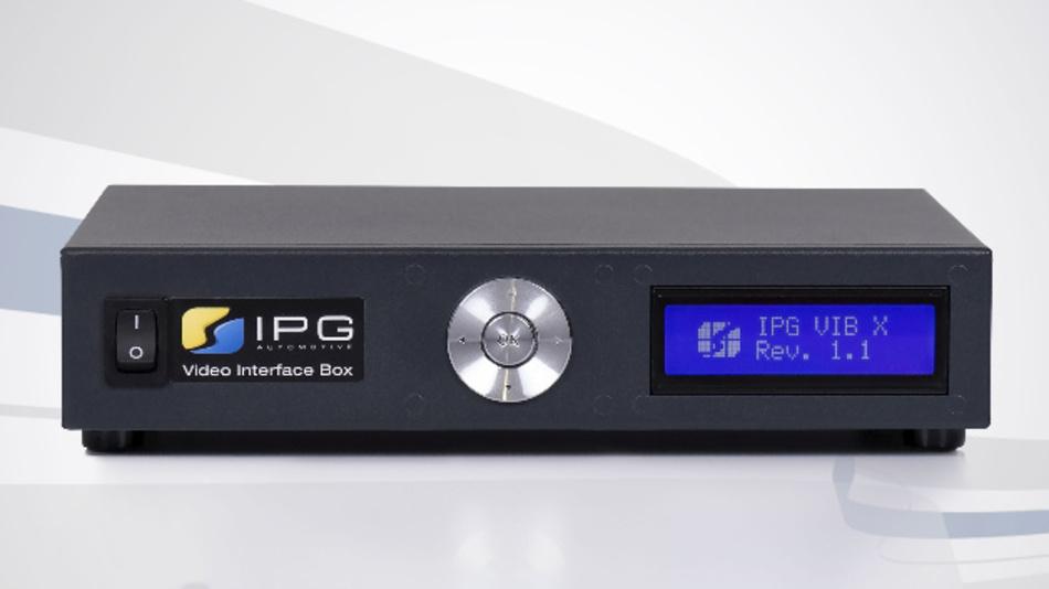 Die verbesserte Video Interface Box X von IPG Automotive bietet neue Funktionen.