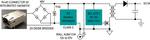 PD der Klasse 2, isoliert, der MAX 5969B dient als PD-Schnittstelle und MAX 17690 als DC-DC-Sperrwandler ohne Optokopller.