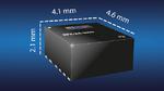 Stromversorgungsmodul im flachen QFN-Package
