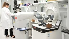 Krankenhaus-Roboter