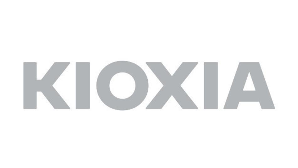 Das Logo von Kioxia.