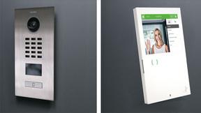 Der Bewegungssensor und die integrierte Videokamera der DoorBird Türsprechanlage erfassen jede Bewegung vor der Haustür und werden somit ein wichtiger Bestandteil des myGEKKO Sicherheitskonzeptes.
