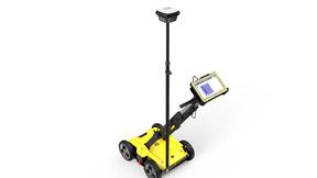Das Leica DSX Ortungssystem arbeitet mit dem Getac F110 Tablet.