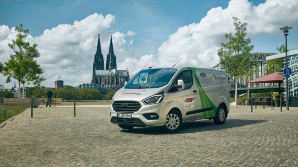 Geofencing- und Blockchain-Optionen stellen emissionsfreien Elektrobetrieb von Plug-in-Hybridfahrzeugen in Umweltzonen sicher. Das erprobt Ford nun auch in Köln.