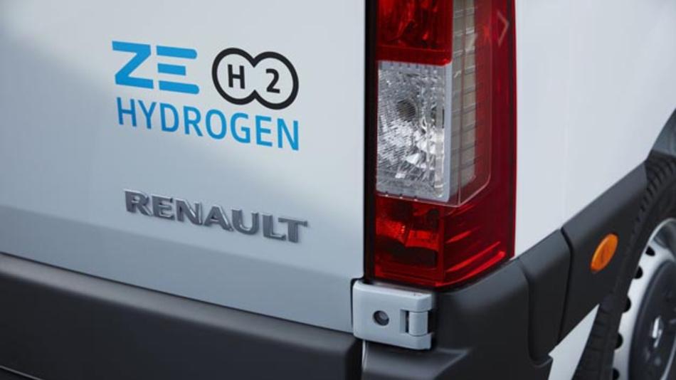 Mit Kangoo Z.E. Hydrogen und Master Z.E. Hydrogen bringt Renault zwei neue Varianten seiner elektrischen Nutzfahrzeuge auf den Markt. Neben Strom tanken sie Wasserstoff für die Brennstoffzellen, die als Range Extender dienen.