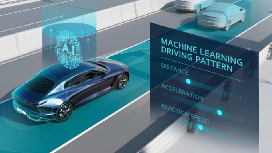 Hyuandais neue Technologie erkennt und analysiert Fahrmuster für Geschwindigkeitsregelanlagen.
