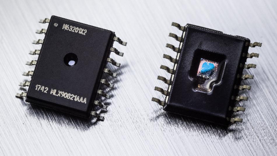 Mit dem MLX90821 ist es möglich für Fahrzeuge mit Verbrennermotor sowie Hybridfahrzeuge ein einheitliches Design zu konzipieren.