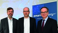 Referenten Andreas Huhmann, Prof. Martin Ruskowski und Prof. Hans Deiter Schotten