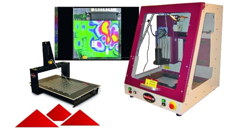 Der EMV-Scanner von Detectus bietet eine Positioniergenauigkeit von ±0,3 mm.